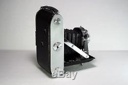 Ensign Selflex 820 6x9 Camera with Original Leather Case, Make in England