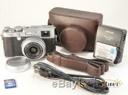 FUJIFILM X100S withOriginal leather case NEAR N from Japan (15937)