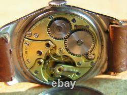 Fine Vintage Art Deco ZENITH Gents Wrist Watch S/S Case Original Cond. 1930