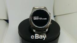 Galaxy Gear S3 Classic SS Case and Band with original Black Leather Band