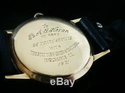 Gents 9ct Gold Girard Perregaux Manual Wind Wristwatch in Original Case 1971