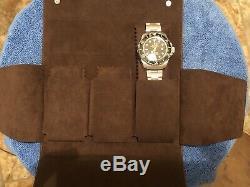 Genuine Original Rolex Leather Travel Case 3 Watches New