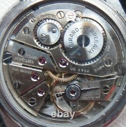Girard Perregaux mens wristwatch steel case load manual original dial