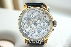 H. MOSER Vintage 1910`s PILOT Enamleled rare New Cased Men`s Marriage Wristwatch