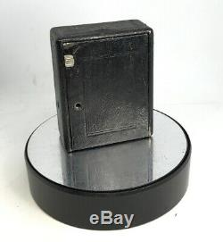 Houghton Butcher Ensign Cameo Folding Camera & 8 Plates in Original Leather Case