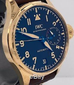 IWC BIG PILOTS HERITAGE WATCH BRONZE 46 mm Case Brand New IW501005