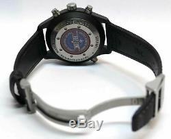 IWC Pilot's Double Chronograph Top Gun 46mm Black Dial Ceramic Case IW379901