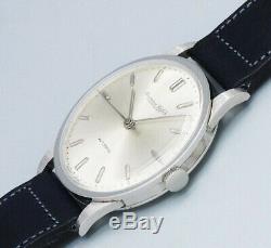 IWC Platinum Round Case Non-date Original Dial Automatic Vintage Watch 1961's