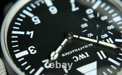 IWC Vintage 1878`s MILITARY PILOT STYLE A-DIAL New Cased Swiss Men`s Wrist Watch