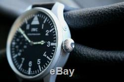 IWC Vintage 1903`s MILITARY PILOT STYLE A-DIAL New Cased Swiss Men`s Wrist Watch
