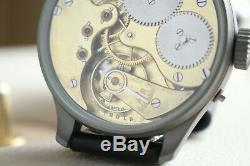 IWC Vintage 1907`s MILITARY PILOT STYLE A-DIAL New Cased Swiss Men`s Wrist Watch