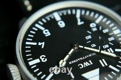 IWC Vintage 1909`s UK MILITARY PILOT STYLE A-DIAL New Cased Swiss Wristwatch