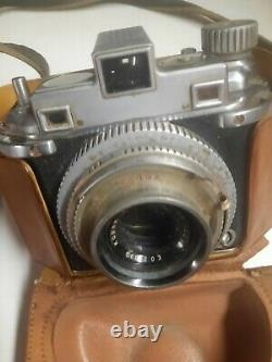 KODAK Medalist II with Ektarf3.5 100mm Lens & Original Leather Case