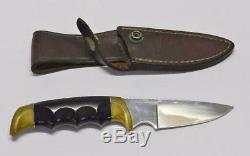 Kershaw Oregon Knife USA Vintage Original With Leather Case