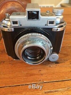 Kodak Medalist Camera with original leather case AS IS