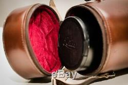 LEICA SUMMILUX-M 75mm f/1.4 Lens, 6 BIT, original Leitz Leather Case