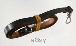 LEITZ LEICA universal brown leather case LTM M39 IIIc IIIf II Tasche original 18