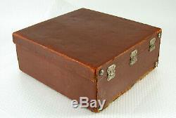 LINHOF Leder leather Koffer case Technika 13x18 vintage original /19