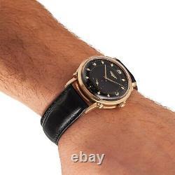 LONGINES Original Wristwatch 14k Gold Case Automatic Caliber 22A 17 Jewels 1950