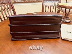 LOUIS VUITTON Taiga Leather Briefcase / Doctor Bag / Pilot Case M30026 FRANCE