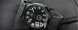 Laco JU-52 Automatic Pilot Watch with Black PVD Case, #861908 Worn Once