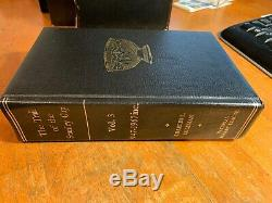 Leather Bound The Trail of the Stanley Cup Three Volume Book w Original Cases