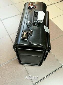 Leather Pilot Case Bonded. Pockets on ends
