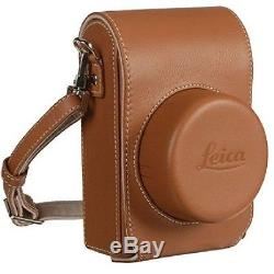 Leica 18821 Leather Cover Jacket Case COGNAC for D-LUX Type 109 Original New