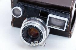 Leica 35mm F2 Summicron M with Spectacles Goggles In Original Leica Leather Case