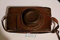 Leica Camera Ernst Leitz Wetzlar No 119474 Original Lens Leather Case Germany
