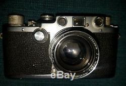 Leica D. R. P. Ernst Leitz Wetzlar Camera No. 580151 Summitar f=5cm 12 Germany
