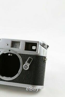 Leica M4 Camera Body with original leather case-READ