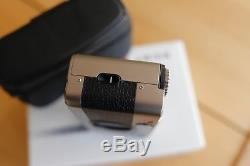 Leica Minilux 35mm film point and shoot camera leather case and original box