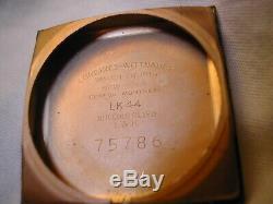 Longines Vintage Watch 1954 Super Horn Lugs Nice Original Case/dial 23z Mvt Runs