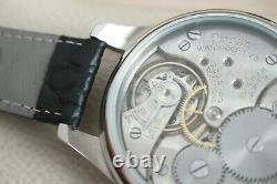 MILITARY PILOT B-Dial Vintage 1930`s New Cased Skeleton Men`s Swiss Wristwatch
