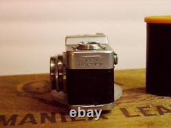 Meopta MIKROMA Subminiature 16mm Camera with original leather case