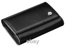 Mercedes Benz original Key Case Black Calfskin B66952883 Perfect Gift Genuine