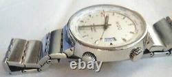 Mido All Dial GMT automatic mens wristwatch steel case Ref. 8350 all original