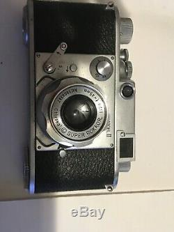 Minolta-35 Model II 35mm Film Rangefinder. Original Leather Case. Made In Japan