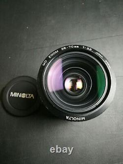 Minolta x-700 mps + 4 Lenses, Originalbox + Leathercase & Manual