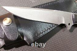 NICE Greco Fixed Blade Knife with Leather Case Discontinued from my Collection