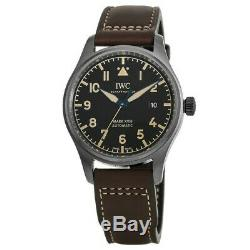 New IWC Pilot's Mark XVIII Heritage Titanium Case Leather Men's Watch IW327006
