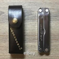 New! Leatherman PST II Original Leather Case and Box. (Made in USA)