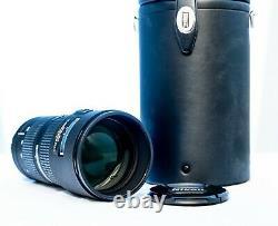 Nikon AF NIKKOR 80-200mm f/2.8D ED. PERFECT Condition + Original Leather Case