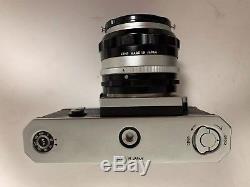 Nikon F FTN Apollo body with 50m Lens, Leather Case & Strap Original