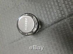 Nikon Nikkor-S Nippon Kogaku Auto f=55mm 11.2 Camera Lens original leather case
