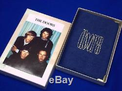 Official 1991 Withdrawn Ltd Ed Doors Jim Morrison Silver Coin Set Leather Case
