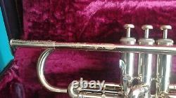 Olds Fullerton Made Mendez Professional Trumpet with Original Leather Case