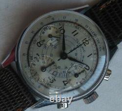 Olimpic Tri Compax Chronograph mens wristwatch nickel chromiun case all original