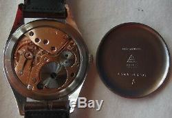 Omega Jumbo mens wristwatch steel case Ref. 2506 Horneycom dial all original